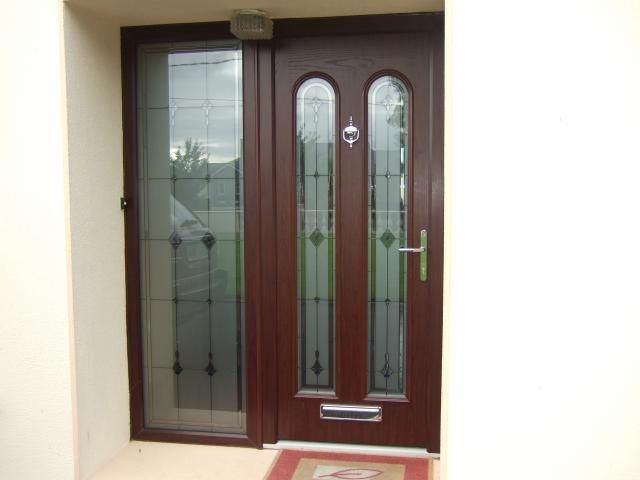 One of many differently designed Palladio doors!