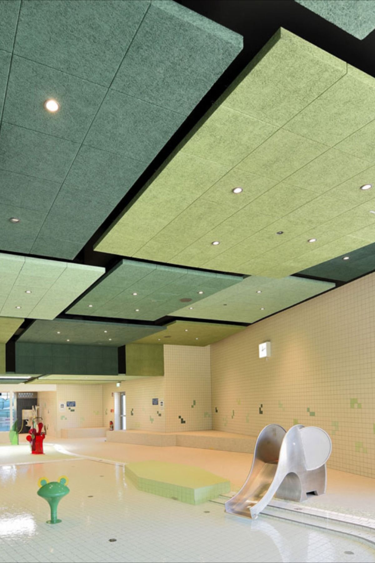 The Planners Of The Barbarossa Thermal Baths Have Managed To Combine Creative Finesse With Functionality And Su Room Acoustics Acoustics Design Acoustic Panels
