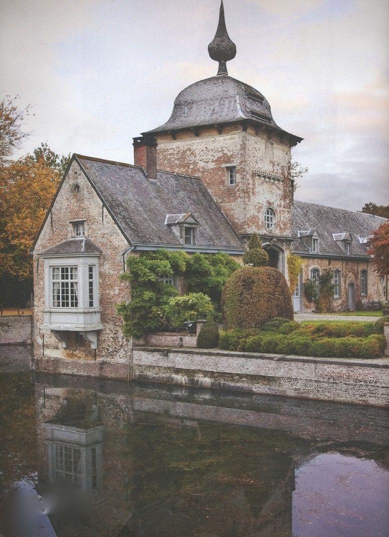 axel vervoordt-'s-gravenwezel-castle-belgium-elle decoration