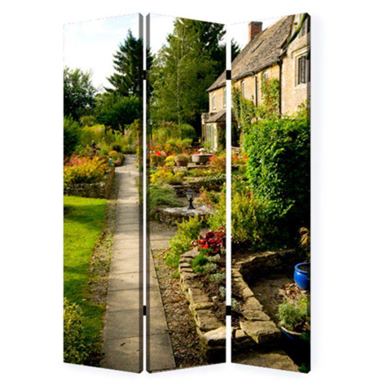 Screen Gems English Garden Room Divider   SG 179