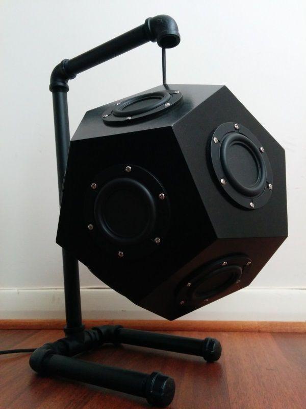 Loudspeaker  Omnidirectional speaker enclosure.