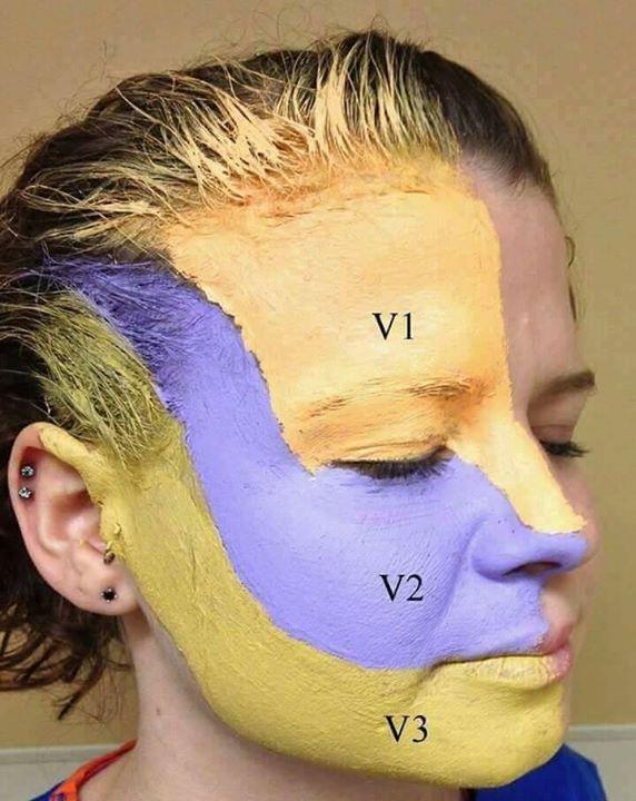 علاج الم العصب الخامس العلاج بالتردد الحرارى لالم العصب الخامس بدون جراحه أثبتت البحوث الطبيه الحديثه والخبره فى هذ Behind Ear Tattoo Sleep Eye Mask Ear Tattoo