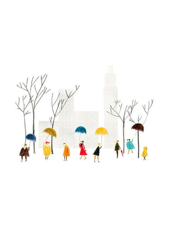 Central Park big print von blancucha auf Etsy
