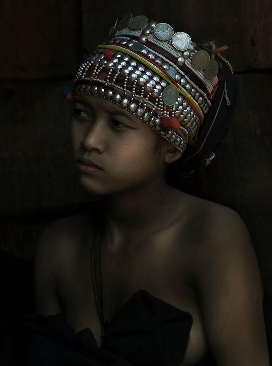 Akha girl, Luang Namtha, Laos.Paul Wager