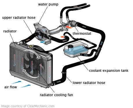 Engine Cooling System Car Mechanic Automotive Mechanic