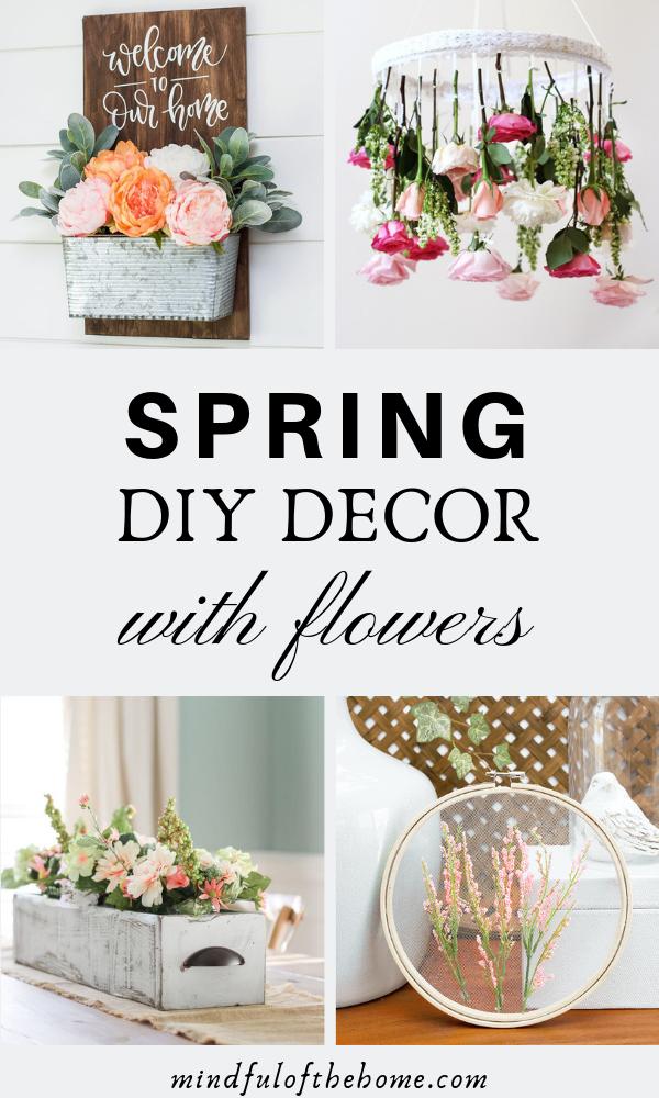 13 Diy Spring Decor Ideas With Flowers Spring Decor Diy Spring