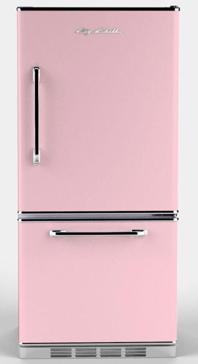 Pink Refrigerator Retro Refrigerator Retro Fridge