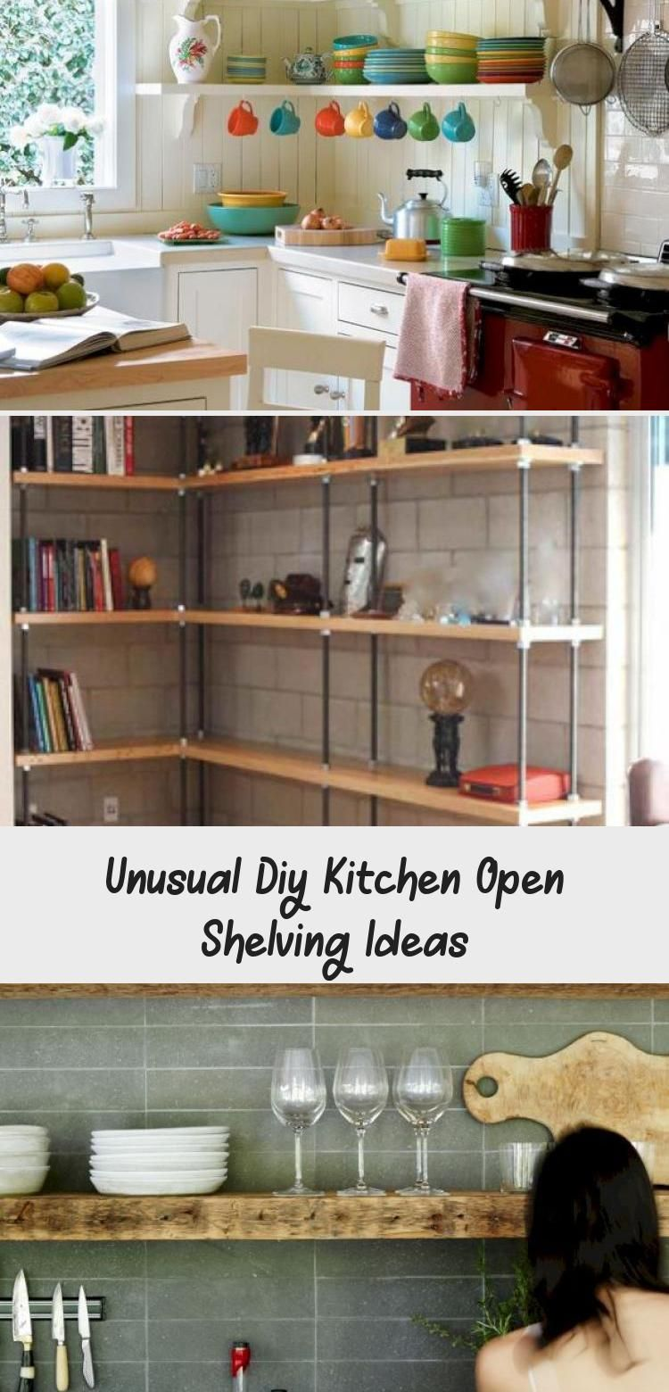 Unusual Diy Kitchen Open Shelving Ideas Diy Kitchen Open Shelving Kitchen