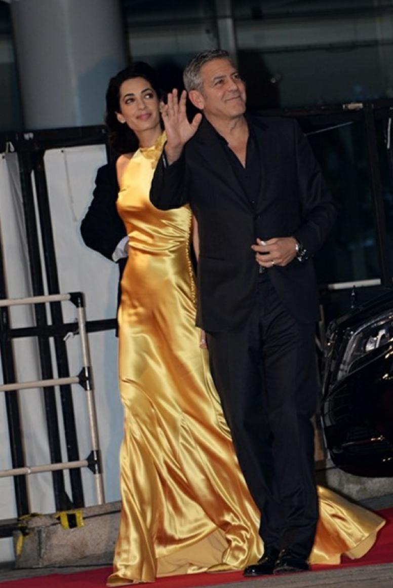 Amal and george Tomorrowland tokyo