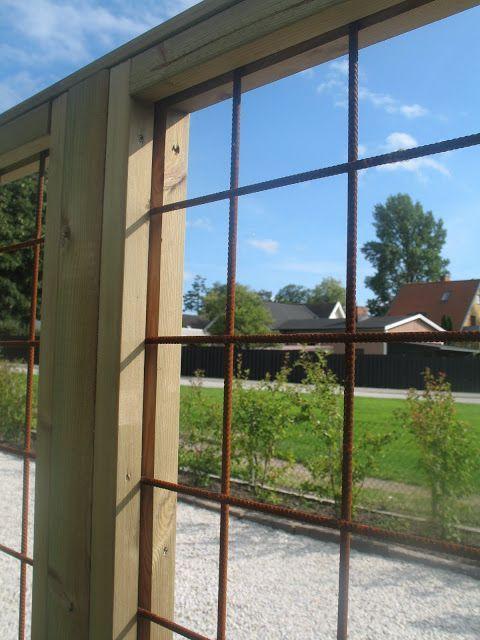 Cl ture bois treillis b ton jardin bricolages - Treillis soude pour terrasse ...