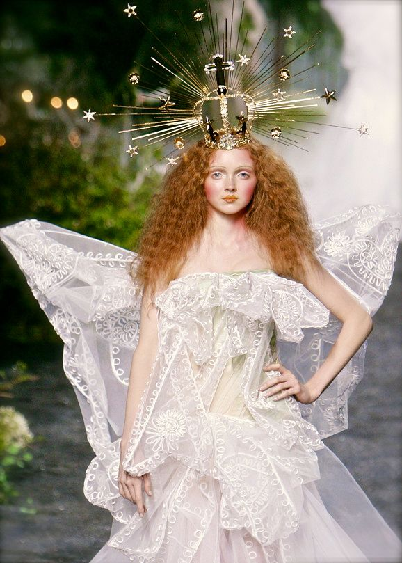 Lily Cole, Christian Dior Couture F/W 2005