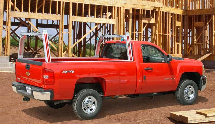 Pick Up Truck Ladder Racks Utility Rig System One Aluminum