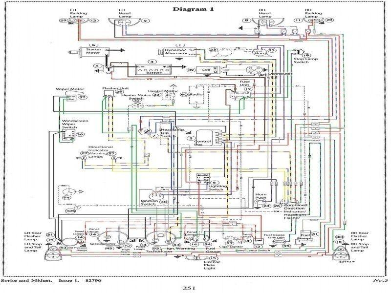 mk3 sprite wiring diagram | austin healey sprite & mg midget - wiring  forums | mg midget, austin healey sprite, fantasy house  pinterest