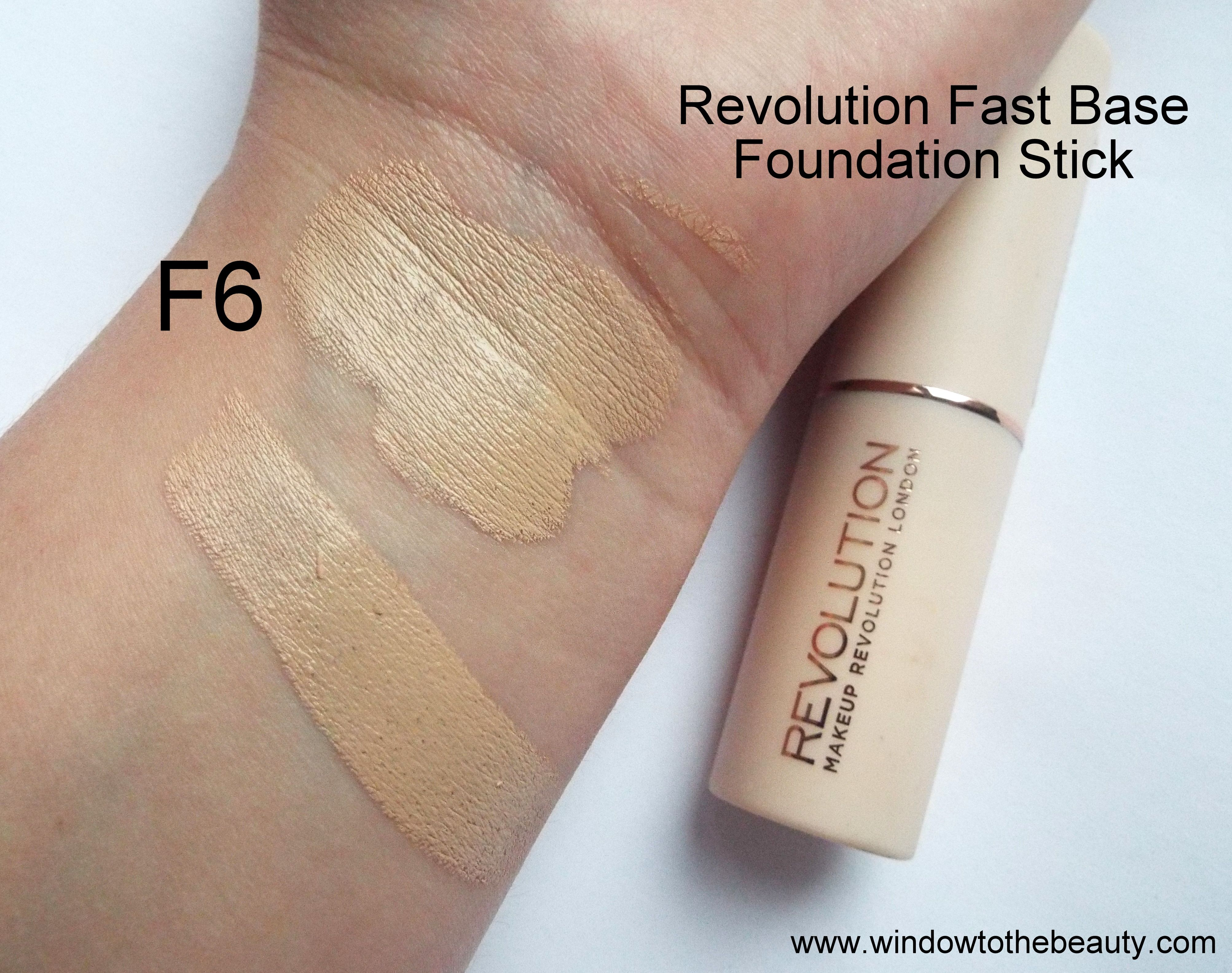Revolution Fast Base Foundation Stick F6 Stick