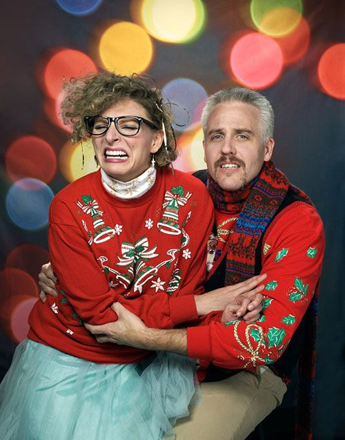 Ugly Christmas Family Pictures.Throw An Ugly Christmas Sweater Party The Funny Bone