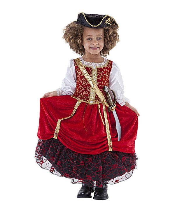 Another great find on #zulily! Princess Factory Red Pirate Princess Dress-Up Set - Girls by Princess Factory #zulilyfinds