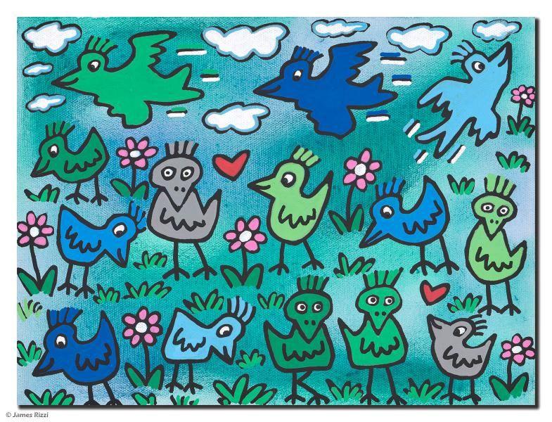 Alle Werke James Rizzi Kunst Grundschule Kunstunterricht Kunstunterricht Grundschule