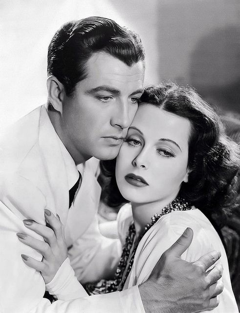 With Robert Taylor from 'Lady of the Tropics' 1939   Flickr - Photo Sharing!