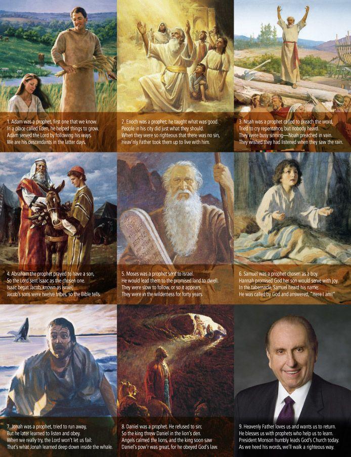 Follow the Prophet verses.... has one for Pres. Monson ...
