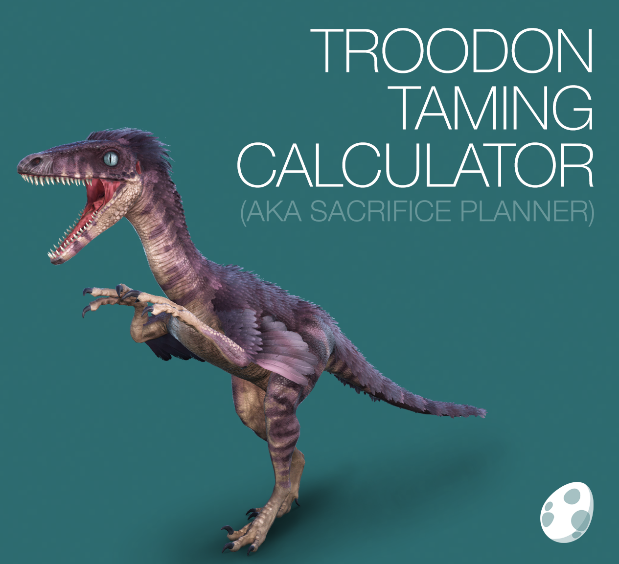 Troodon taming calculator for ark survival evolved httpwww troodon taming calculator for ark survival evolved including taming times food requirements kibble recipes saddle ingredients forumfinder Images