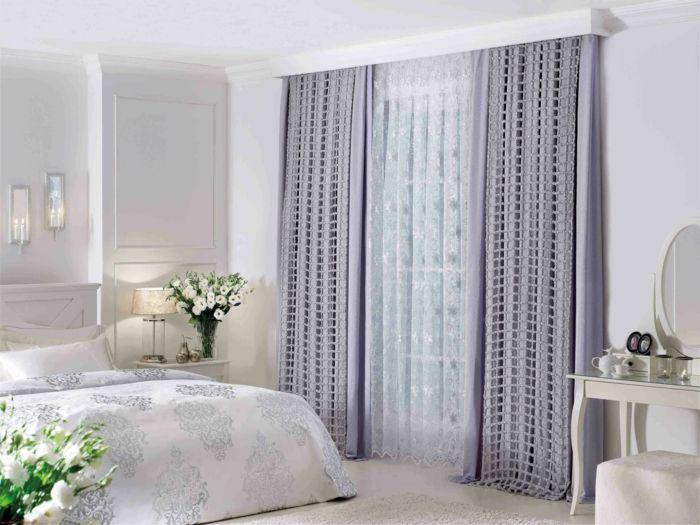46 Blickdichte Gardinen mit dekorativem und Schutzeffekt zugleich