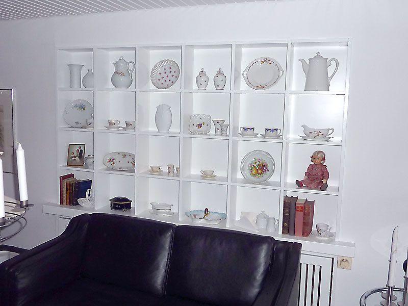 Regalanlage In Fensternische Montiert Regal Tischlerei Idee