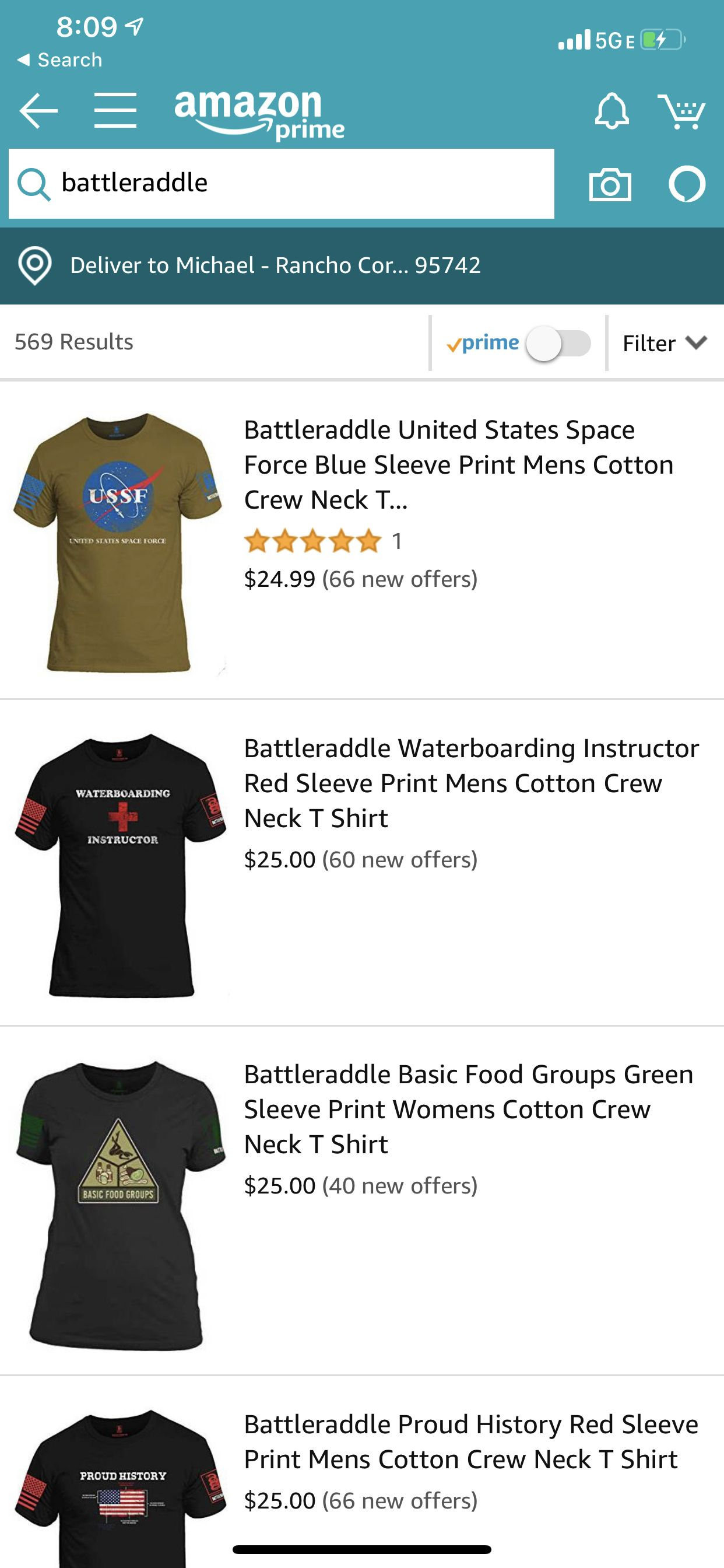 Battleraddle Always Ships Free And Same Day From Website Also We Offer Prime And Deliver On Sundays When You Order On Amazo You Deserve It Neck T Shirt Amazon