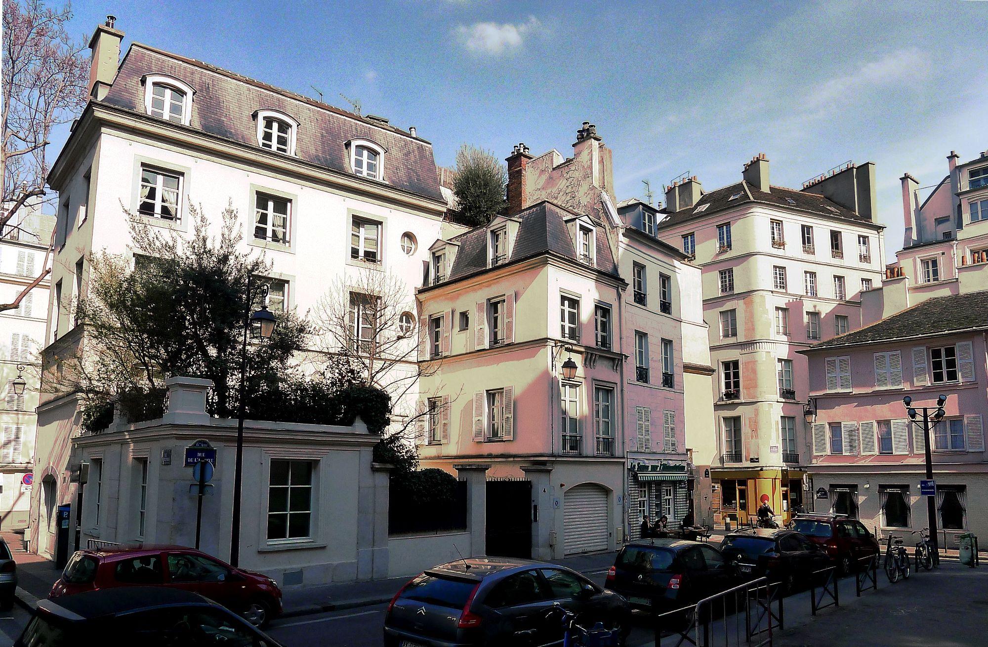 Lugar: la rue de l'abbaye, paris - El perseguidor