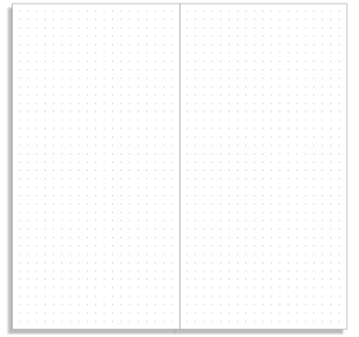 My Life All in One Place: Print a basic dot grid notebook insert for ...