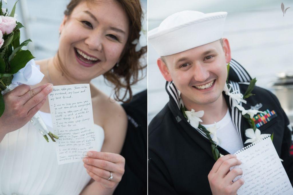 Jason & Akiko Married on the Scotch Mist...