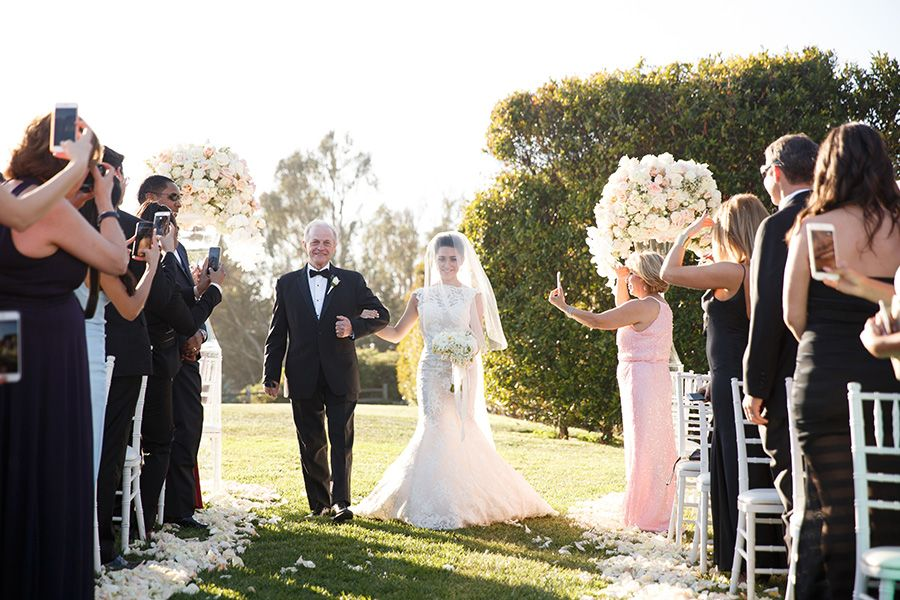 Glamorous California Wedding at Bacara Resort