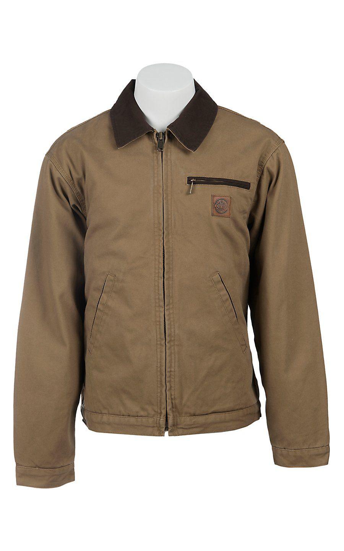 Cowboy Workwear Men S Tan Fleece Lined Jacket Wsshctft Mens Workwear Outerwear Jackets Jackets [ 1440 x 900 Pixel ]
