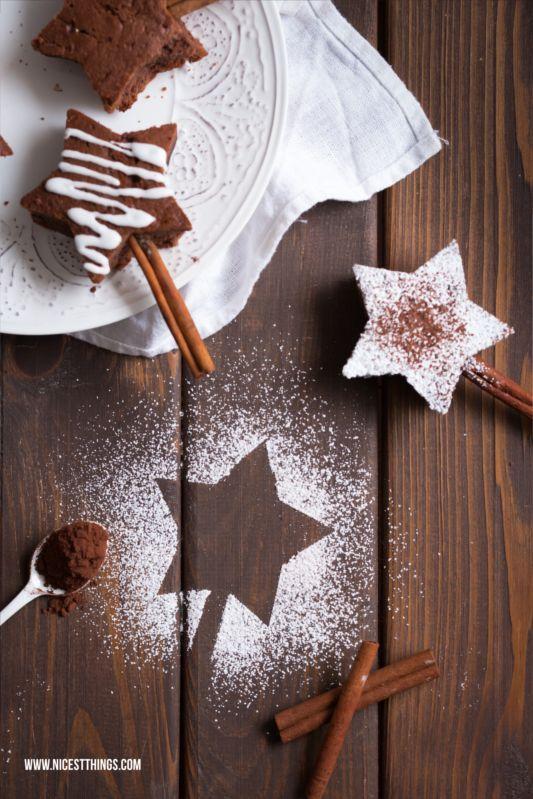 Brownie Sterne Rezept Weihnachtliche Brownies Am Zimtstangen Stiel Nicest Things Weihnachtsbrownies Weihnachtsliebe Zimtstangen