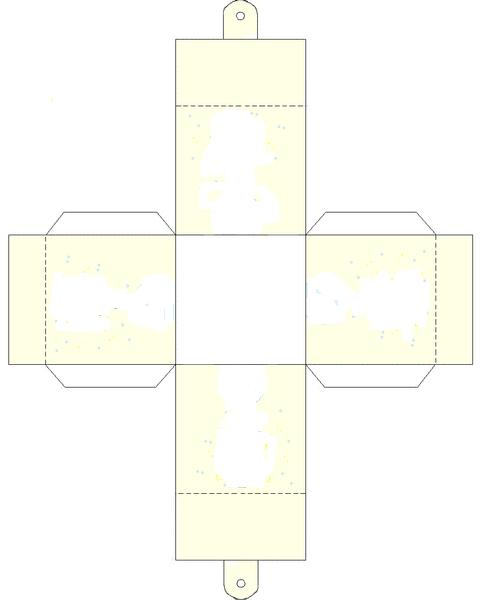 patron boite dragees drag es diy box box et origami. Black Bedroom Furniture Sets. Home Design Ideas