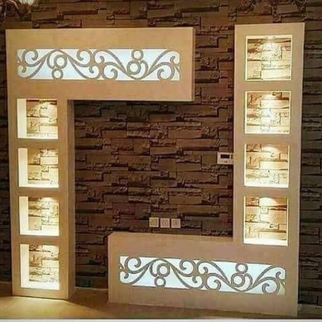 Modern Gypsum Tv Wall Unit Decoration Design Ideas Engineering Discoveries Tv Wall Design Tv Wall Unit Tv Wall Decor