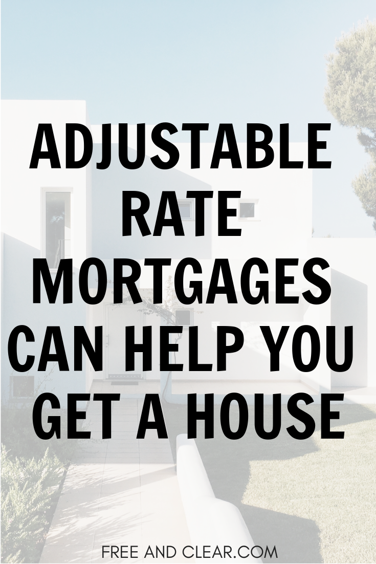 Current Adjustable Rate Mortgage Rates Arm Rates Freeandclear Adjustable Rate Mortgage Mortgage Mortgage Tips