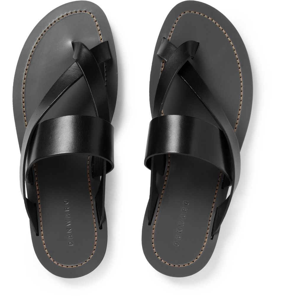 a7e55e6b2f9d5 New arrivals from MR PORTER today! Dan Ward Leather Sandals