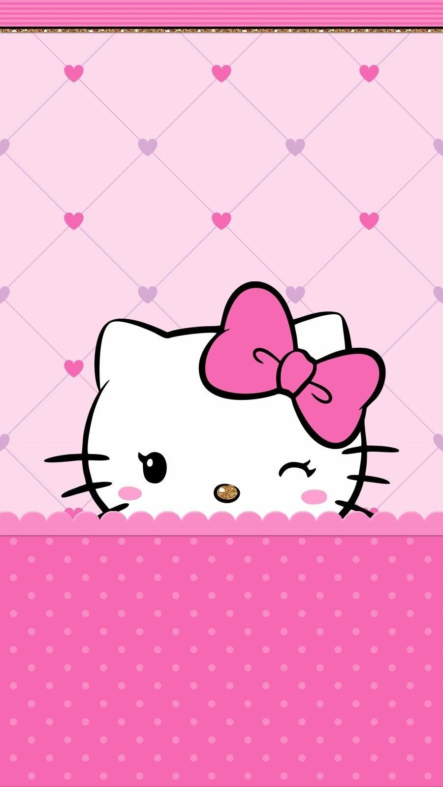 Hellokitty Walpaper Hello Kitty Iphone Wallpaper Walpaper
