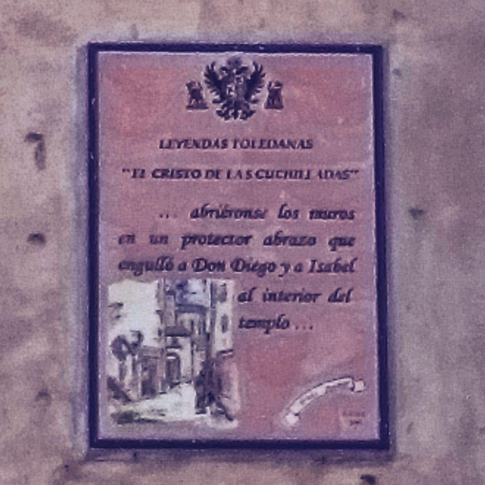 Leyenda Cristo de la Cuchillada en la Cuesta de San Justo de Toledo