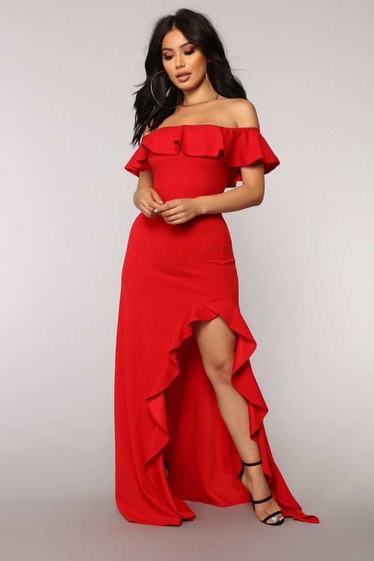3ec3493d25d Chasin  Love Ruffle Dress - Red in 2019