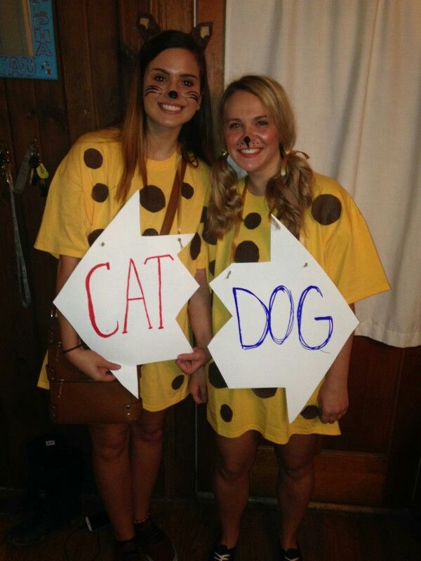 Catdog Diy Costume Spirit Week Costumes Diy Costumes