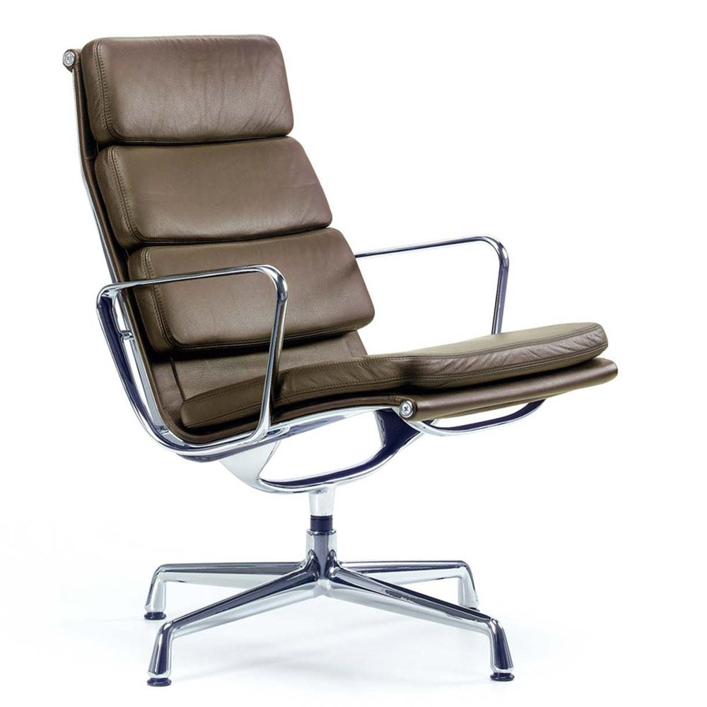 Awesome Vitrau0027s Eames Aluminium Group Soft Pad Lounge Chair Uses The Same Design  Principle And Construction As