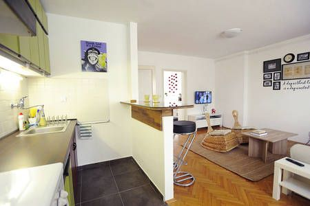 Delightful Two Room Apartment In Zagreb One Bedroom Apartment Apartment Room One Bedroom