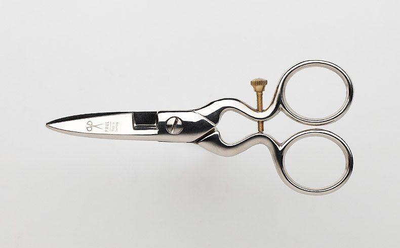 Vintage buttonhole scissors