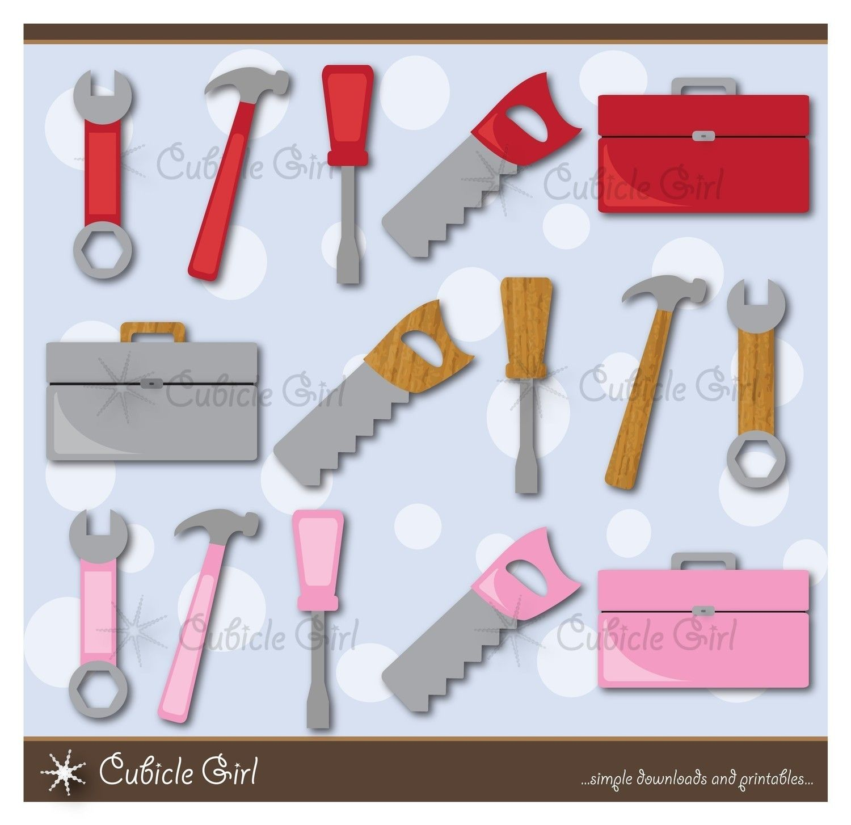 Tools For Kids Clip Art 300 Dpi
