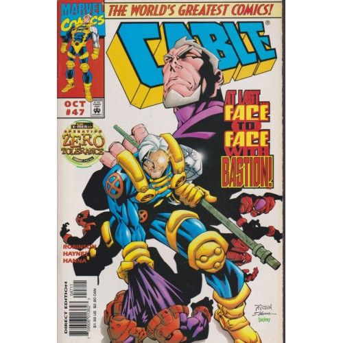 CABLE #47   $3.60   1993-2002   VOLUME 1   MARVEL   COMIC BOOKS   The Recycled Find