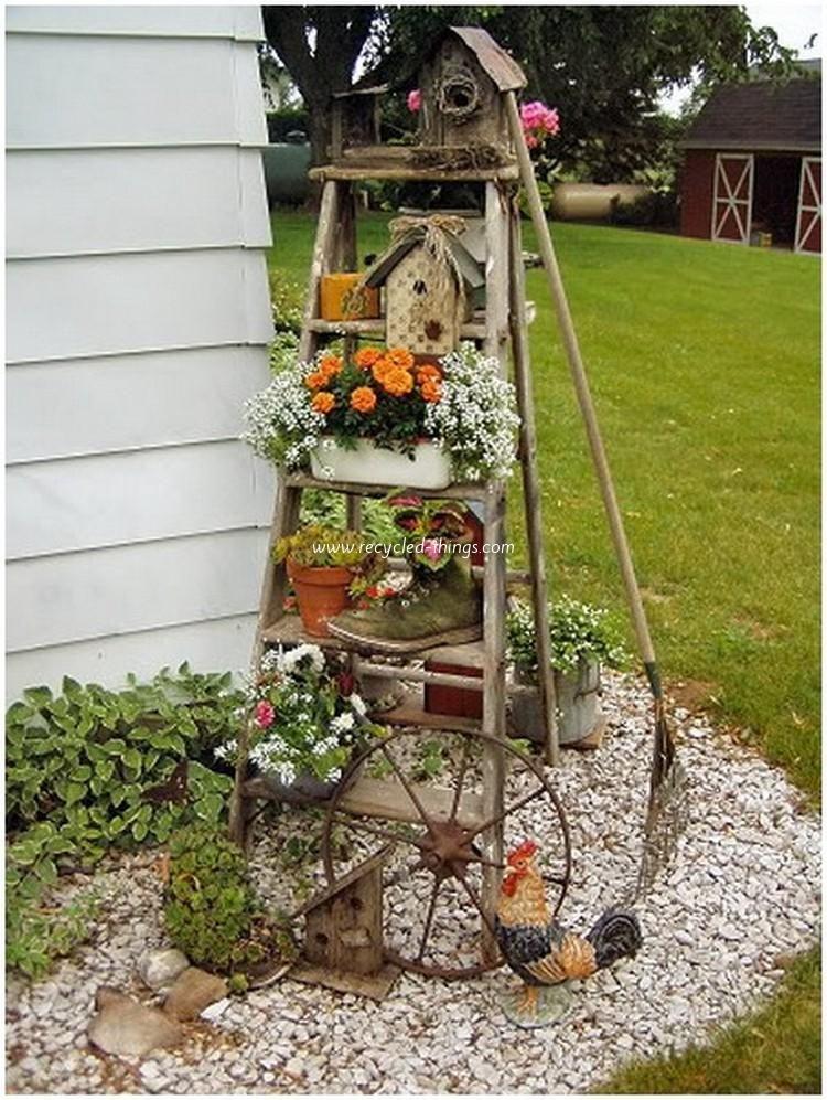 Outdoor Garden Art Jo\u0027s board Pinterest Garden, Garden Art and
