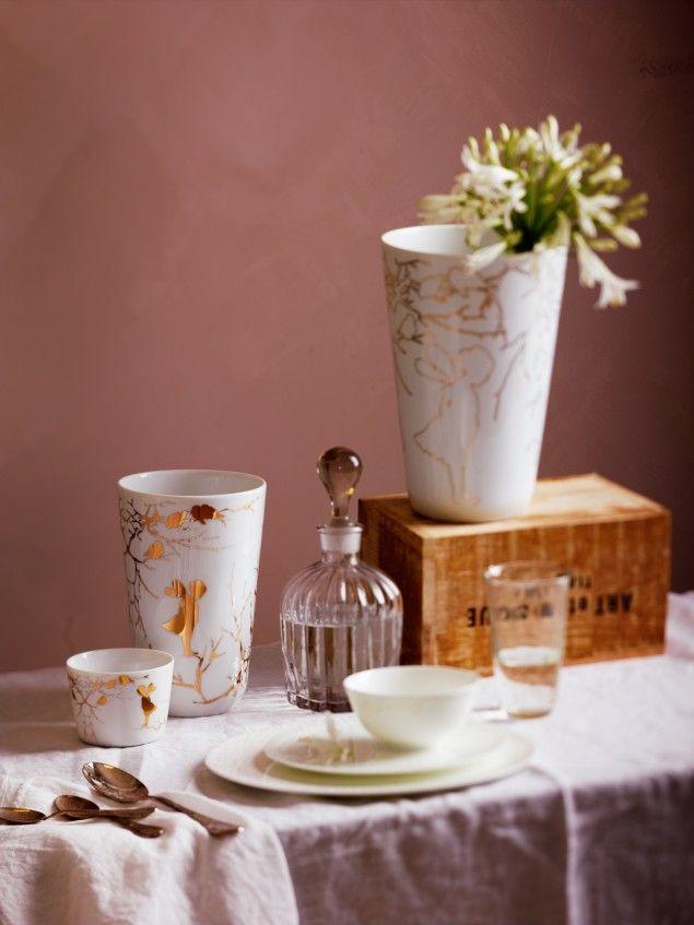"by Wik & Walsøe. Vase ""Alv""."