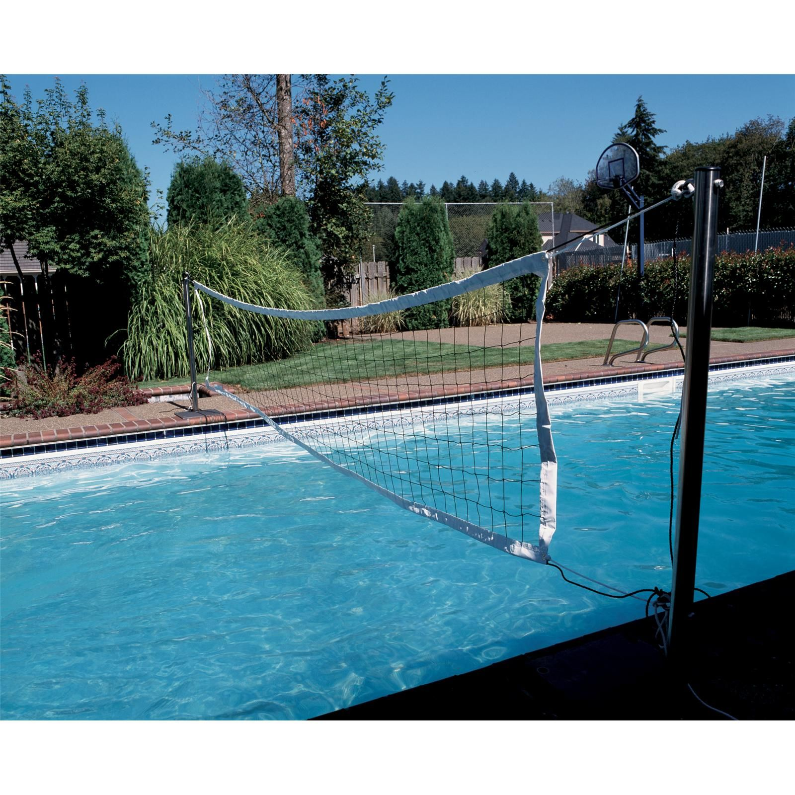 Swim N Spike Volleyball Game For Sale In Chesterfield St Louis Mo Baker Pool Spa Inc 636 532 3133 Spike Volleyball Volleyball Games Volleyball