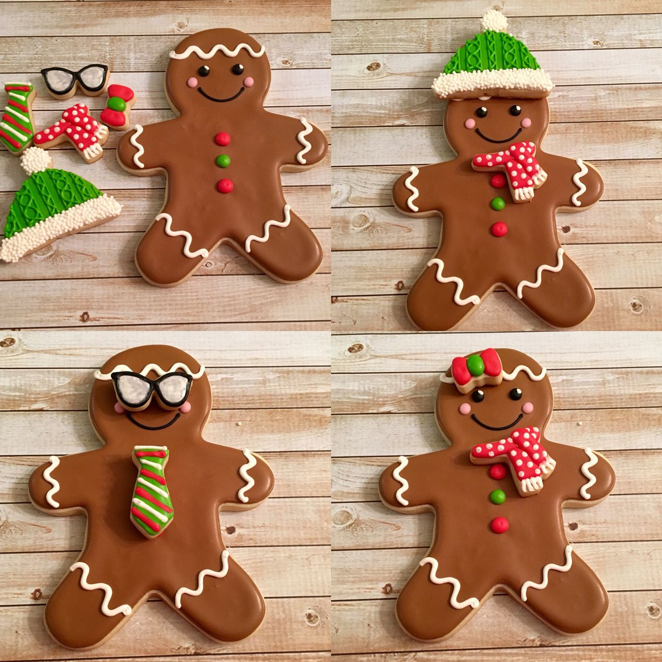 Build Your Own Gingerbread Man Confetticookies
